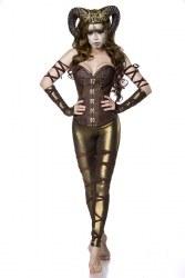 Karneval Halloween Damen Kostüm Dämone Succubus