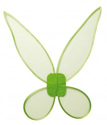 Karneval Feen Flügel grün