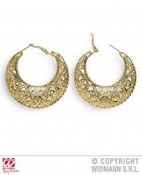 Karneval Goldene Ohrringe für Zigeuner Römer Orient