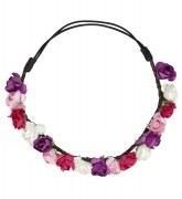 Karneval Haarband Blumen