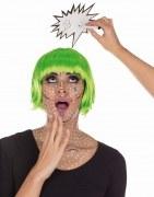 Karneval Haarreif Pop-Art Blitz