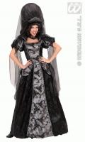 Karneval Halloween Damen Kostüm DUNKLE KÖNIGIN
