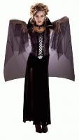 Karneval Halloween Damen Kostüm MIDNIGHT VAMPIRA