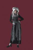 Karneval Halloween Damen Kostüm TOTE HERZOGIN