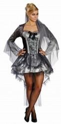 Karneval Halloween Damen Kostüm Todesbraut