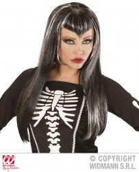 Karneval Halloween Damen Perücke Skeletria