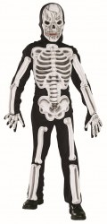 Karneval Halloween Jungen Kostüm EVA Skelett