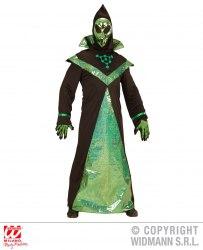 Karneval Halloween Herren Kostüm Außerirdischer Alien