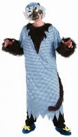 Karneval Halloween Herren Kostüm BÖSER WOLF