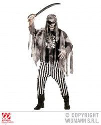 Karneval Halloween Herren Kostüm Geisterschiff Pirat