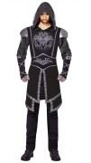 Karneval Halloween Herren Kostüm Mörder Dark Assassin