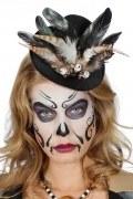 Karneval Halloween Hut Mini Zylinder Voodoo