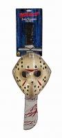 Rubies Karneval Halloween JASON™ Maske und Machete