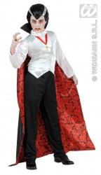 Karneval Halloween Jungen Kostüm Edler Vampir