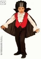 Karneval Halloween Jungen Kostüm GRAF DRACULA