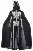 Karneval Halloween Kinder Cape Leuchtendes Skelett