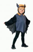 Karneval Halloween Kinder Kostüm FLEDERMAUS