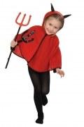 Karneval Halloween Kinder Kostüm TEUFELCHEN CAPE