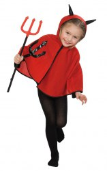 Karneval Halloween Kinder Teufelsgabel Teufels-Dreizack