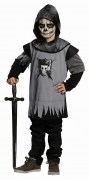 Karneval Halloween Jungen Kostüm Totenkopf Ritter