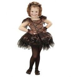 Karneval Halloween Mädchen Kostüm Ballerina Leopard