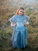 Karneval Halloween Mädchen Kostüm Geisterbraut