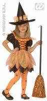 Widmann Karneval Halloween Mädchen Kostüm Hübsche Hexe