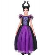 Karneval Halloween Mädchen Kostüm Malefizia