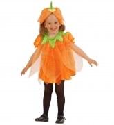 Karneval Halloween Mädchen Kostüm Mini Kürbis