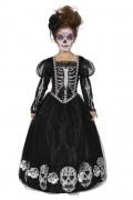 Karneval Halloween Tween Mädchen Kostüm Tag der Toten Kleid