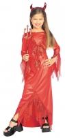 Karneval Halloween Mädchen Kostüm Teufelsbraut