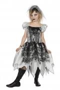 Karneval Halloween Mädchen Kostüm Zombie Braut