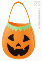 Karneval Halloween Tasche KÜRBIS