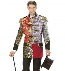 Karneval Herren Kostüm Jacket Jaquard Patchwork