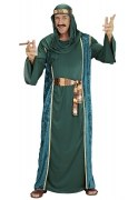 Karneval Herren Kostüm Arabischer Scheich grün