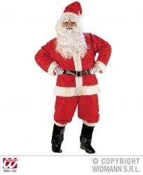 Karneval Herren Kostüm Deluxe Weihnachtsmann