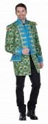 Karneval Herren Kostüm Jacke Pfau