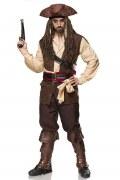 Karneval Herren Kostüm Pirat Captain Jack