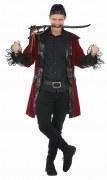 Karneval Herren Kostüm Pirat Piratenmantel Freibeuter