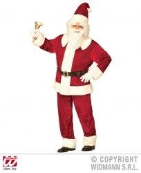 Karneval Herren Kostüm Weihnachtsmann SUPER DELUXE SANTA