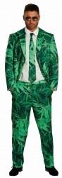 Karneval Herren Kostüm Hanf Anzug