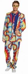 Karneval Herren Kostüm Hippie Anzug