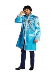 Karneval Herren Kostüm Sergeant Pepper Jacke blau