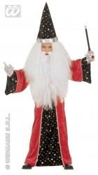 Karneval Jungen-Kleinkind-Kostüm Zauberer