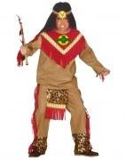 Karneval Jungen Kostüm Indianer Häuptling