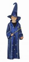 Karneval Halloween Jungen Kostüm Kleiner Zauberer