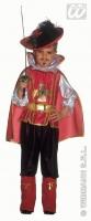 Karneval Jungen Kostüm MUSKETIER