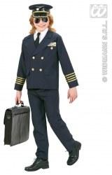 Karneval Jungen Kostüm Pilot