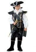 Karneval Jungen Kostüm Pirat Schwarzer Corsar