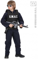 Karneval Jungen Kostüm SWAT WESTE